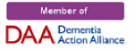 Sunshine care is a member of the Dementia Action Alliance